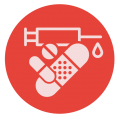 Brambell iconen-def1_rood - medisch
